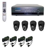 PAKET CCTV SILICON SDVR9214 WITH 4X DOME CAMERA RS-326 PCM