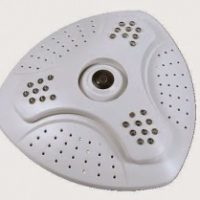 IP CAMERA SILICON FISH EYE TDQ-006-IP